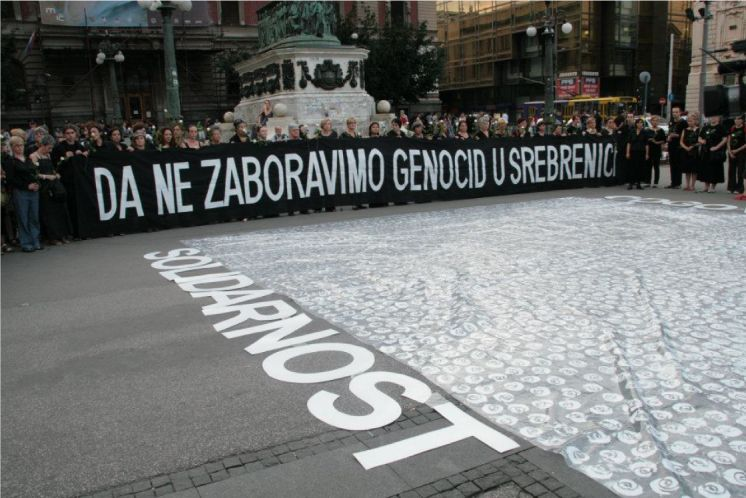 Memory work in Serbia: Women in Black Remembering Srebrenica as Genocide in Belgrade